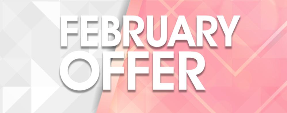 February Beauty Offer