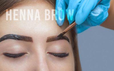 Henna Brows training from Urban Beauty Academy Leeds